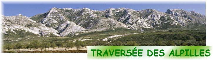 traversee alpilles